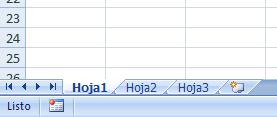 Hoja de Excel