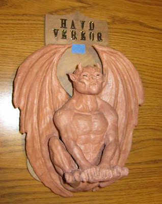 gargoyle shield and strike plate fabrication