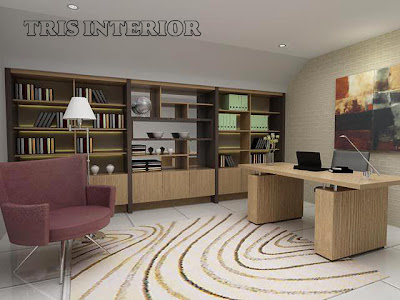 Interior Setting Ruang Kerja Office