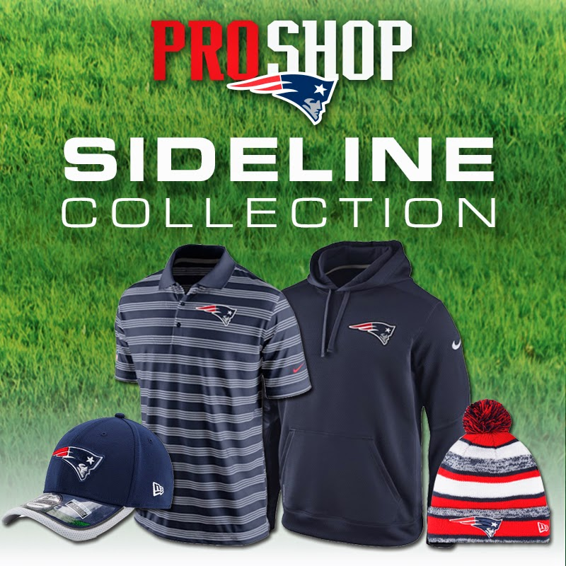3a1c5cf94 Patriots ProShop Blog  2014 Sideline Collection
