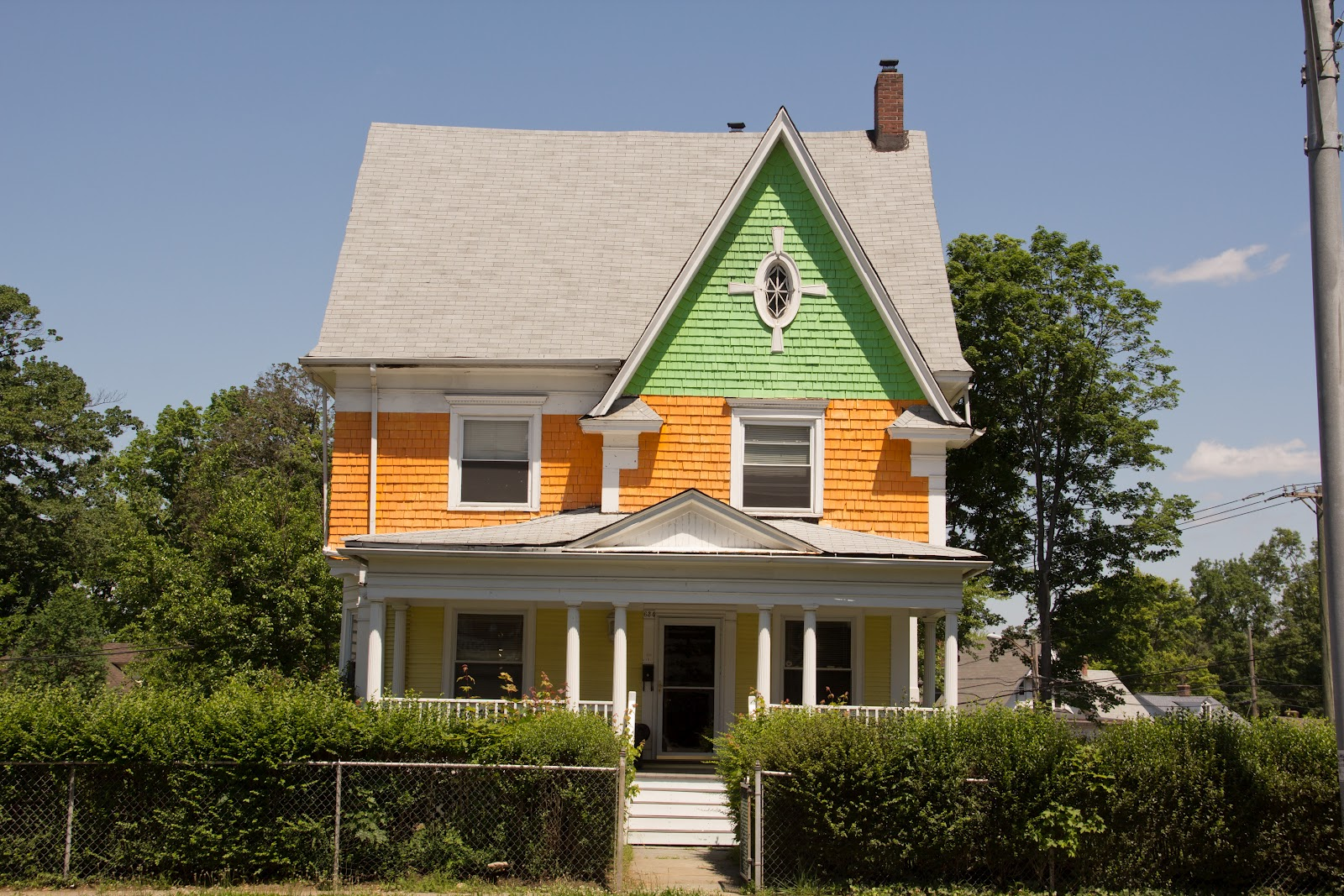 Displaying 18> Images For - Green Painted House...