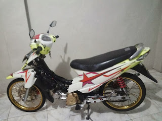 modifikasi shogun sp terbaru
