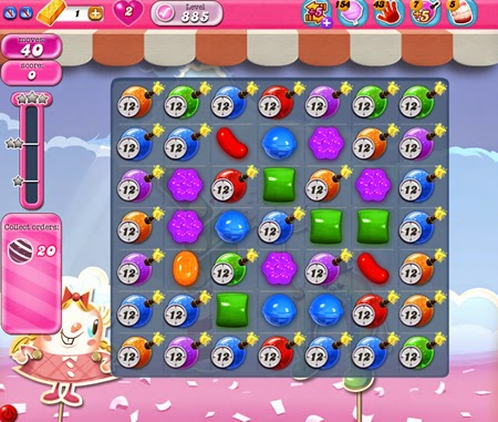 Candy Crush Saga 885
