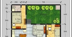 desain denah rumah minimalis type 70