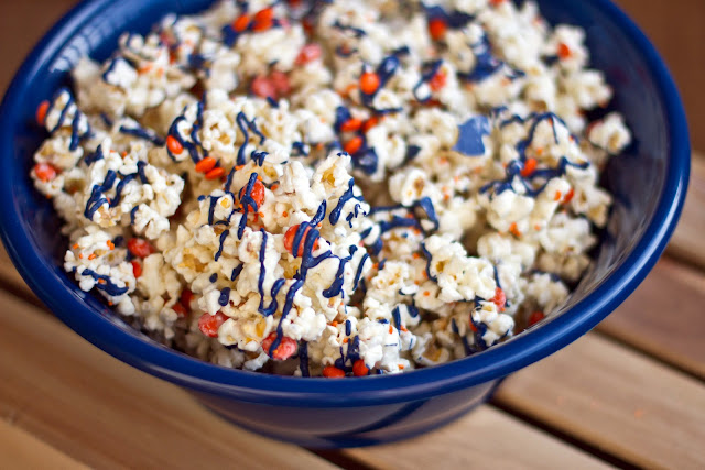 Broncos Popcorn from Chasing Some Blue Sky