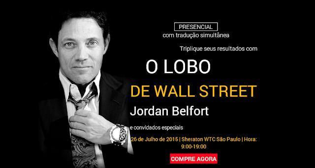 Jordan Belfort ensina com cometer fraudes no mercado de ações