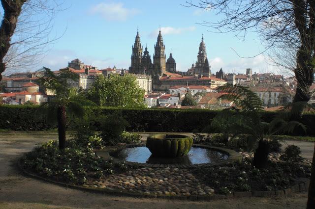 Santiago de Compostela desde La Alameda