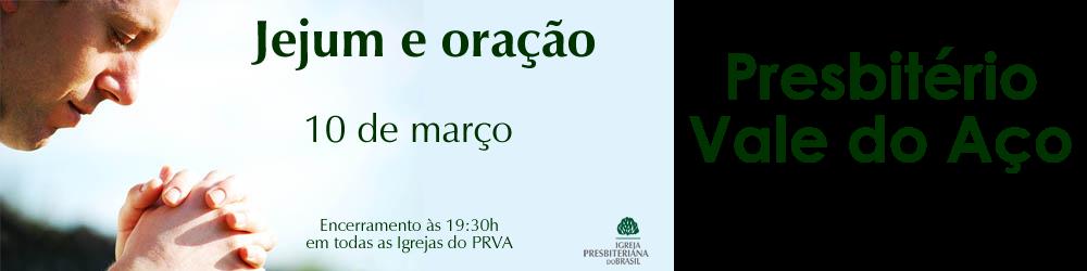 PRESBITÉRIO VALE DO AÇO - 2015
