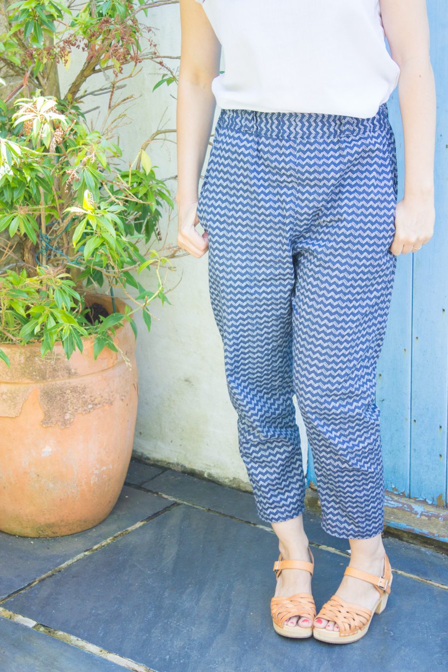 Sew Caroline Happy Home Art Gallery Fabrics Casual Sweet Clothes trousers