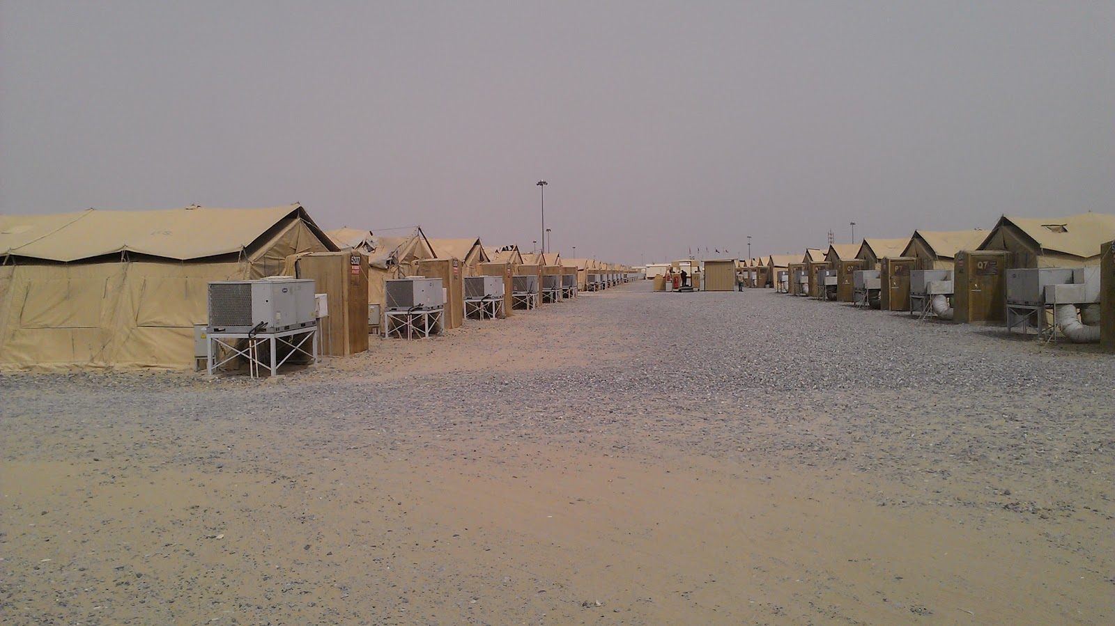A box of thoughts welcome to kuwait the first days tents at ali al salem sciox Images