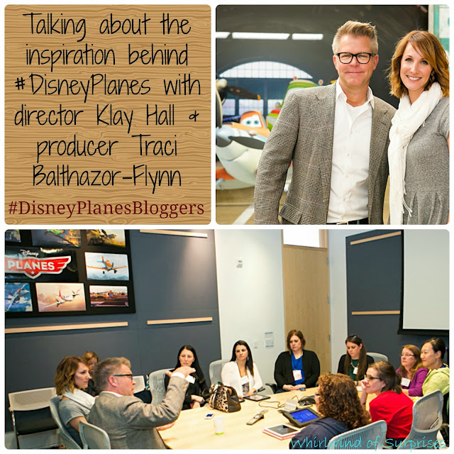 Inspiration behind #DisneyPlanes with Director Klay Hall and Producer Traci Balthazor-Flynn #DisneyPlanesBloggers