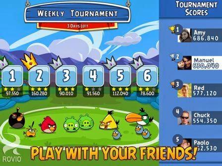 Angry Birds Friends Terbaru