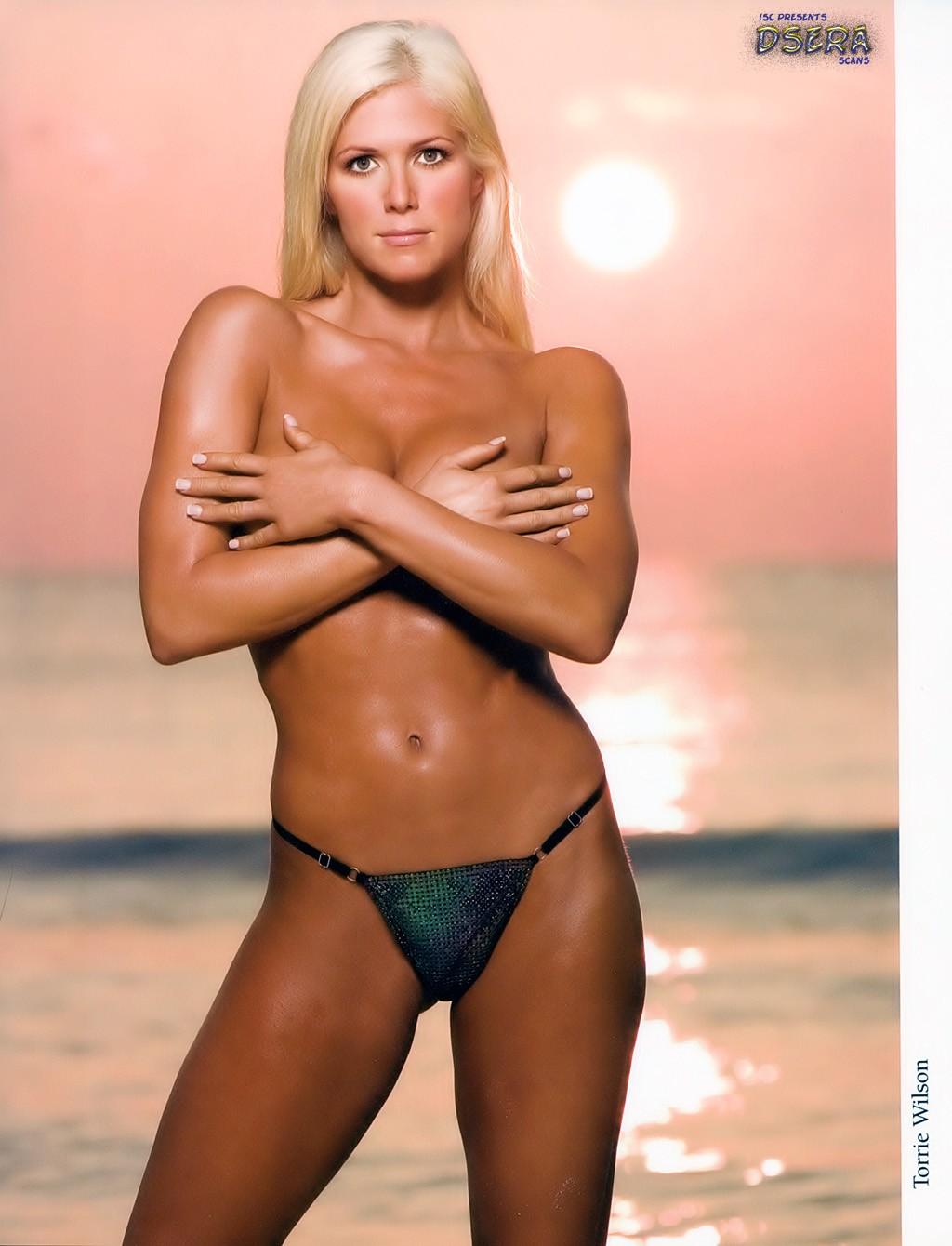 Wwe Torrie Wilson In Bikini