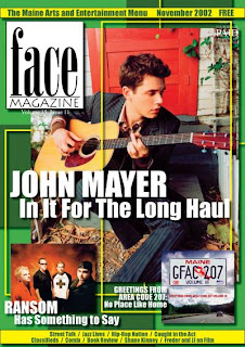 John Mayer on Face Magz