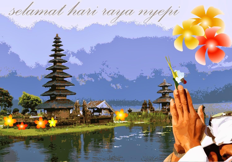 itulah tadi kumpulan kartu ucapan selamat hari raya Nyepi 2014 yang ...
