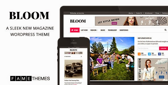 Bloom - Sleek New Magazine Theme