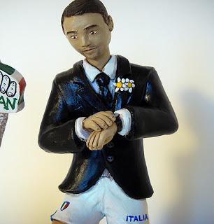 sposo calciatore italia mondiali brasile 2014 personalizzato orme magiche
