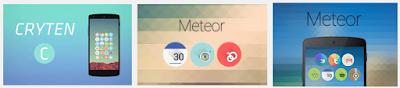 Baru Icon Meteor Dan Glim IconPack