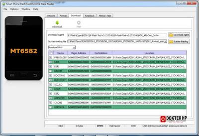 Download SP Flash Tool v5.1532.00 New Versi