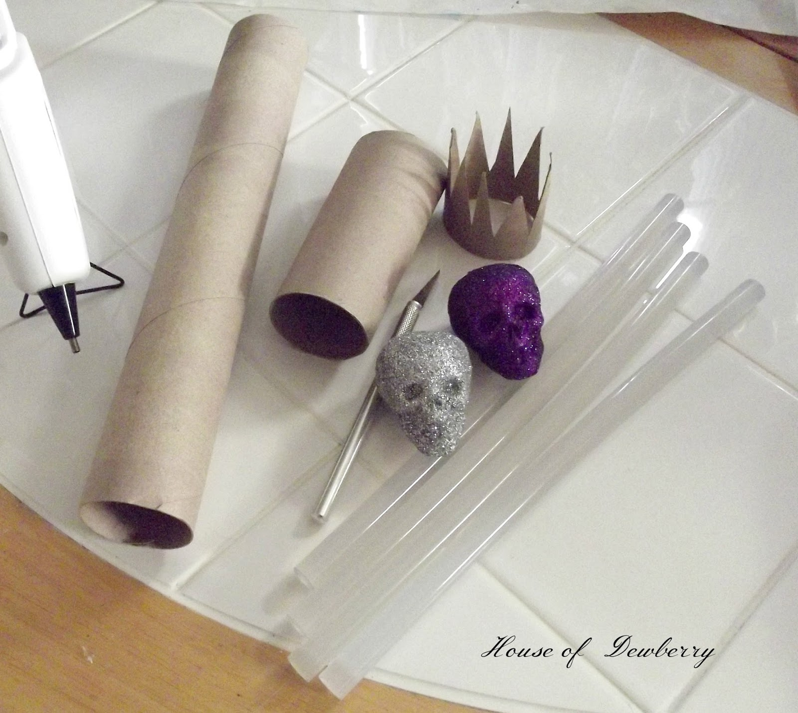 Paper Towel Roll Crafts Halloween