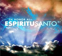 Dedicación al Espíritu Santo.