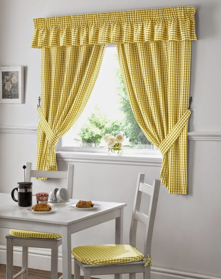Kitchen Window Curtains For Classic Kitchen