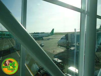 Sampai di bandara Sepinggan, Balikpapan, Kalimantan Timur