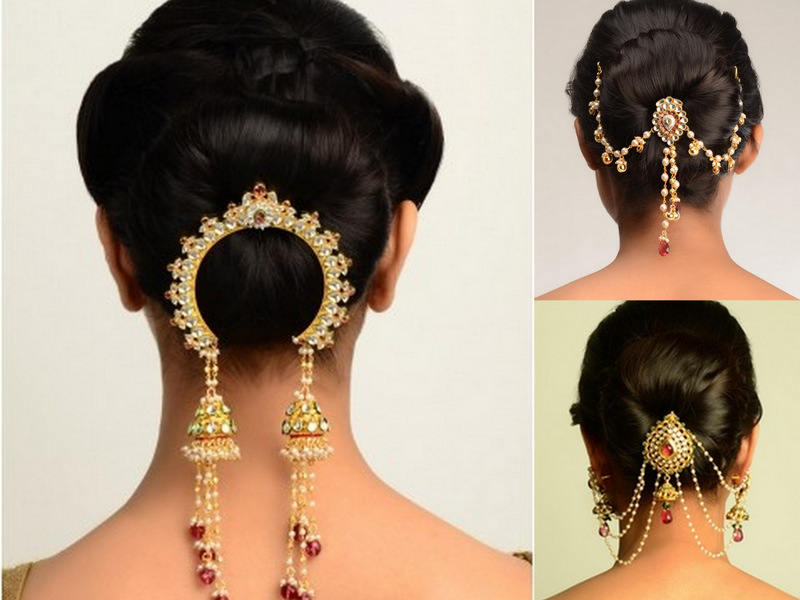 jewellery 6 juda pin juda pin is a kind of a layered and elaborate bun ...