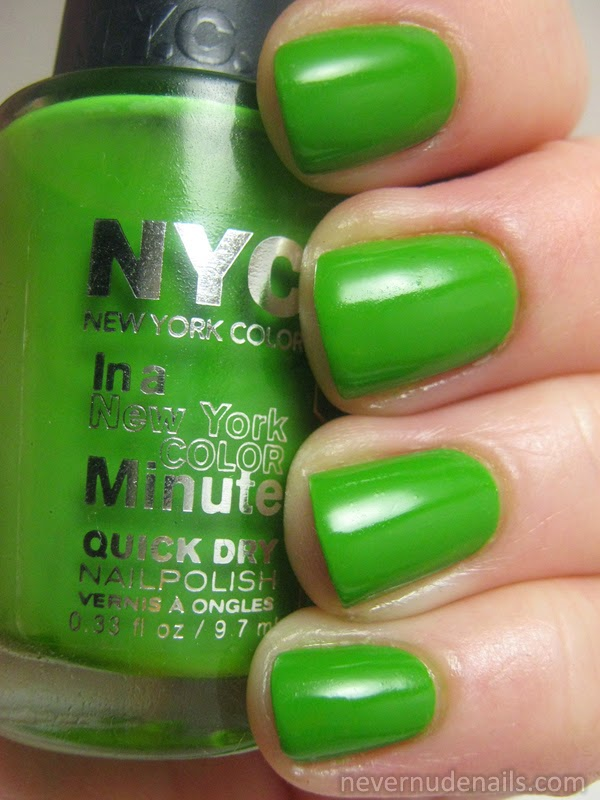 Never Nude Nails: NYC High Line Green