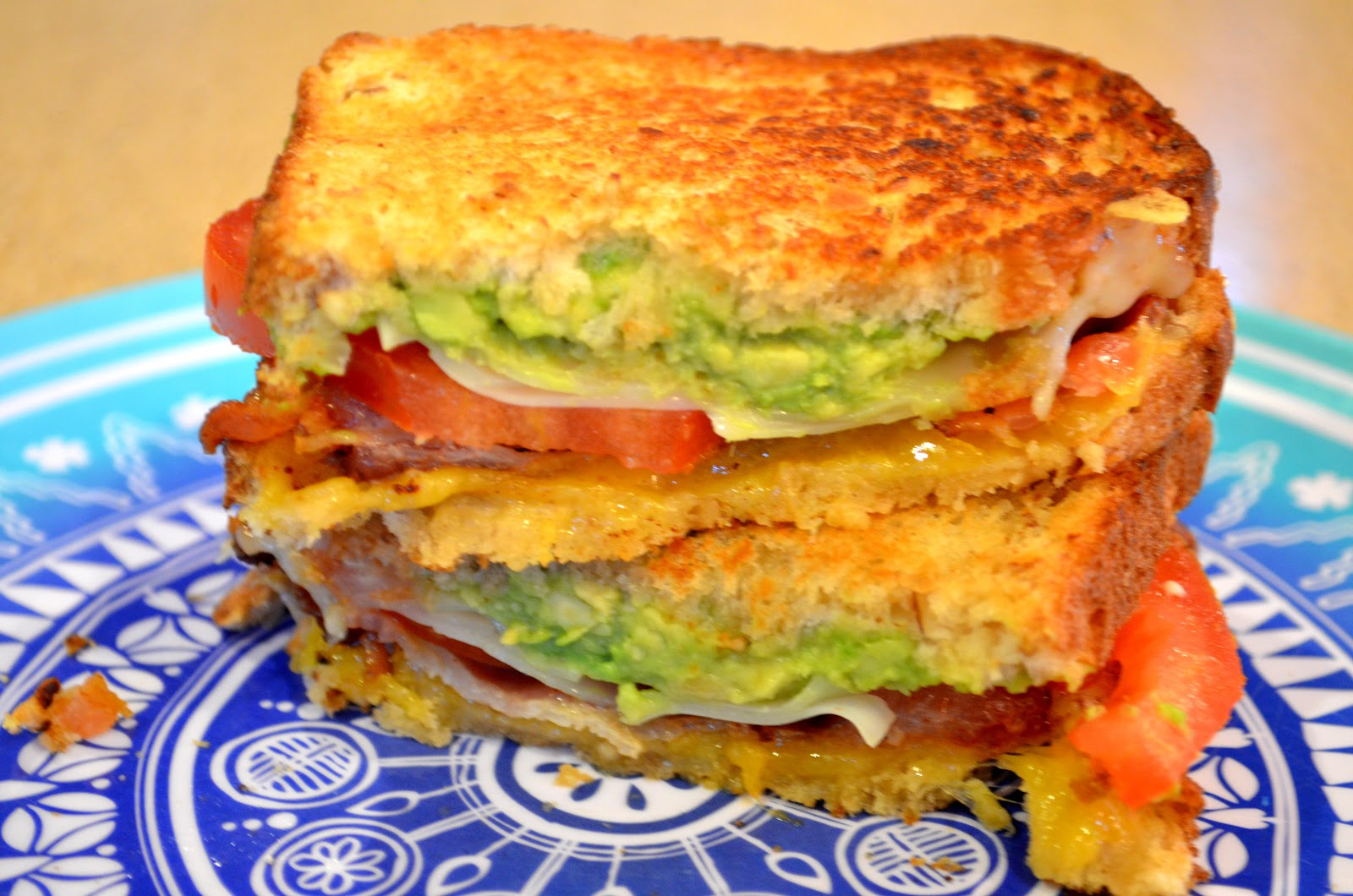 Breaking the recipe rut: California Grilled Cheese Sandwich