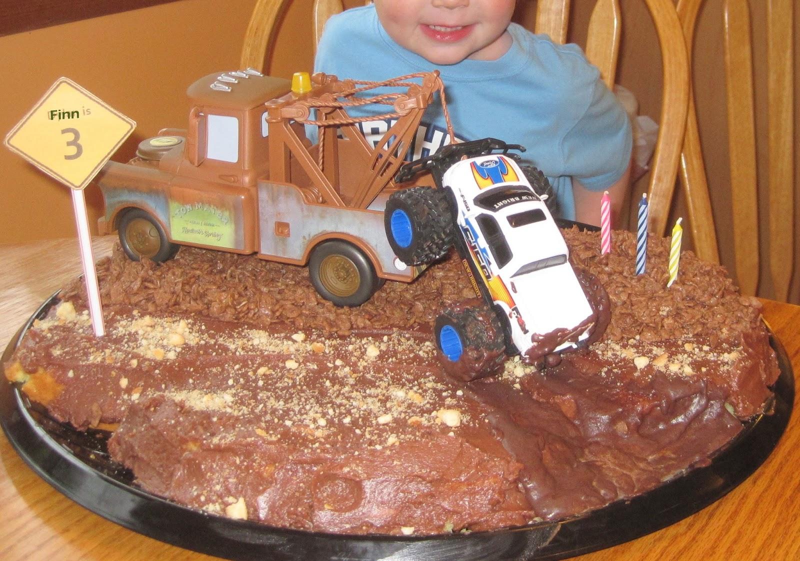 Living Gorges Finn S Monster Truck Birthday Party