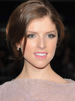 Anna Kendrick Dangling Diamond Earrings