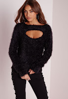 https://www.missguided.co.uk/new-in/fluffy-peep-hold-front-jumper-black