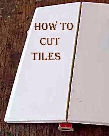 Cutting Bathroom Wall Tiles