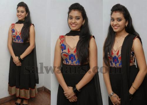 Annaya Black Salwar Kameez