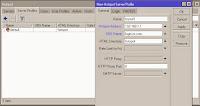 Create hotspot server profile on mikrotik hostpot