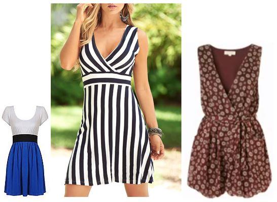 Vestidos de verano para cuerpo rectangular