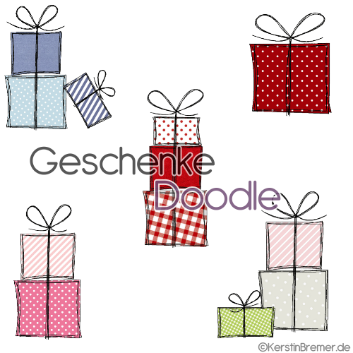 Geschenke Doodle von KerstinBremer.de