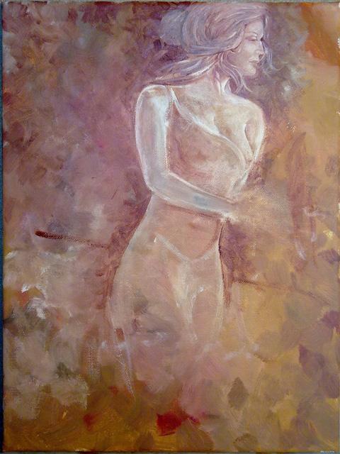 mujer-semidesnuda-boceto-al-oleo