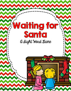 Waiting for Santa-First Grade and Fabulous