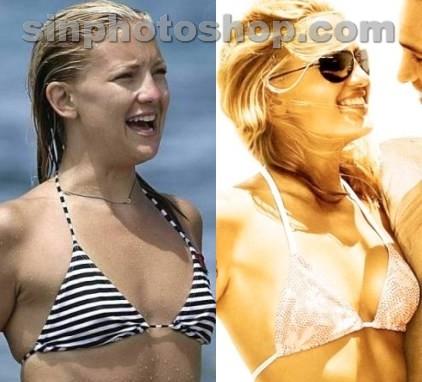 Kate Hudson antes y después