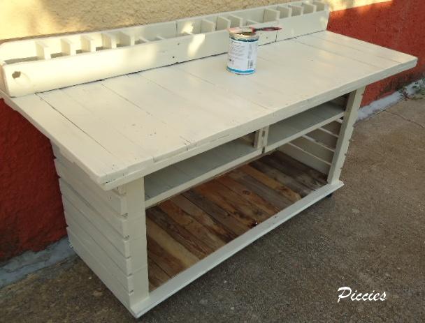 Mesas - Mesas hechas con palets de madera ...