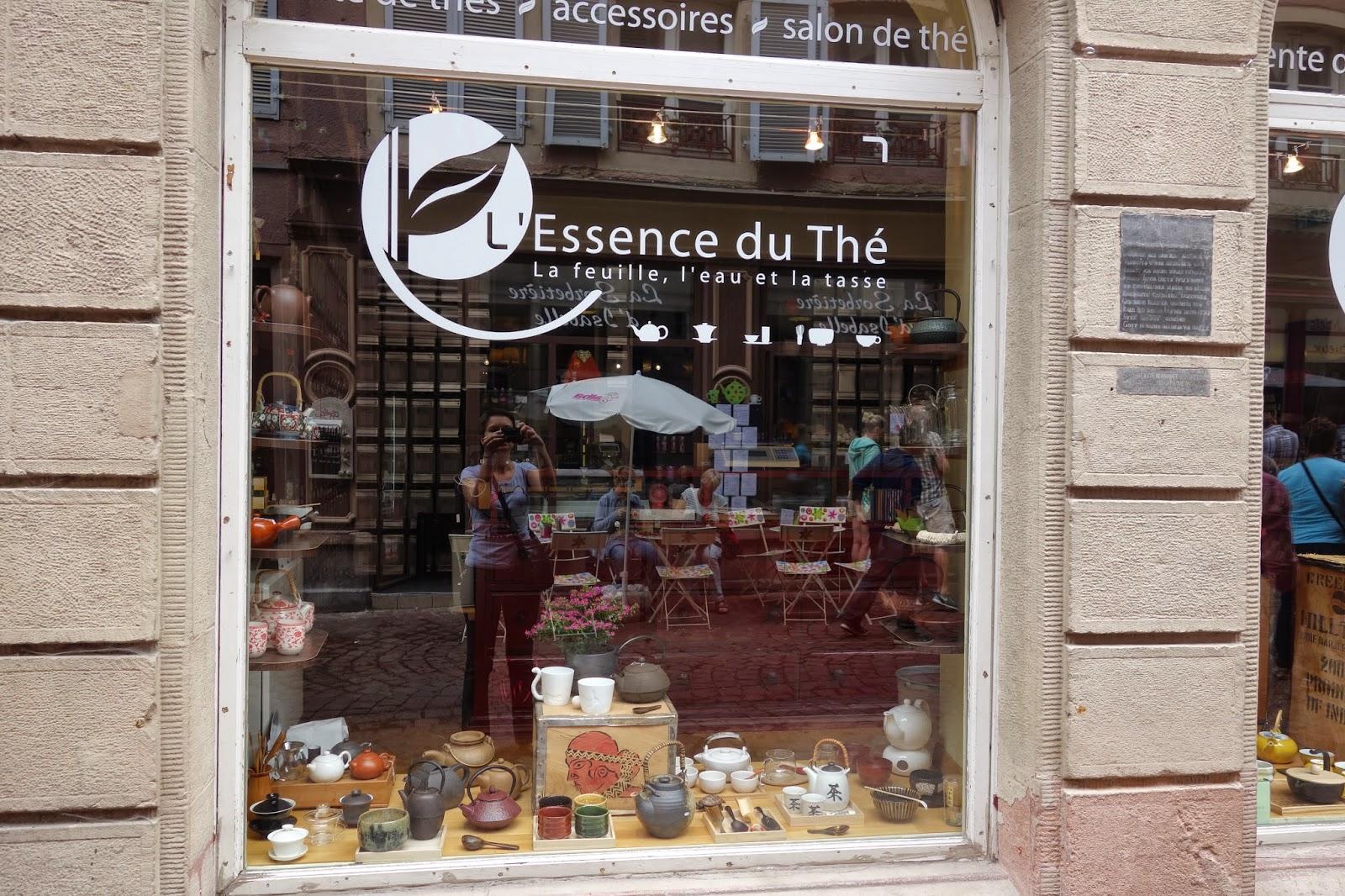 Кольмар - улица Торговцев - чайный магазин