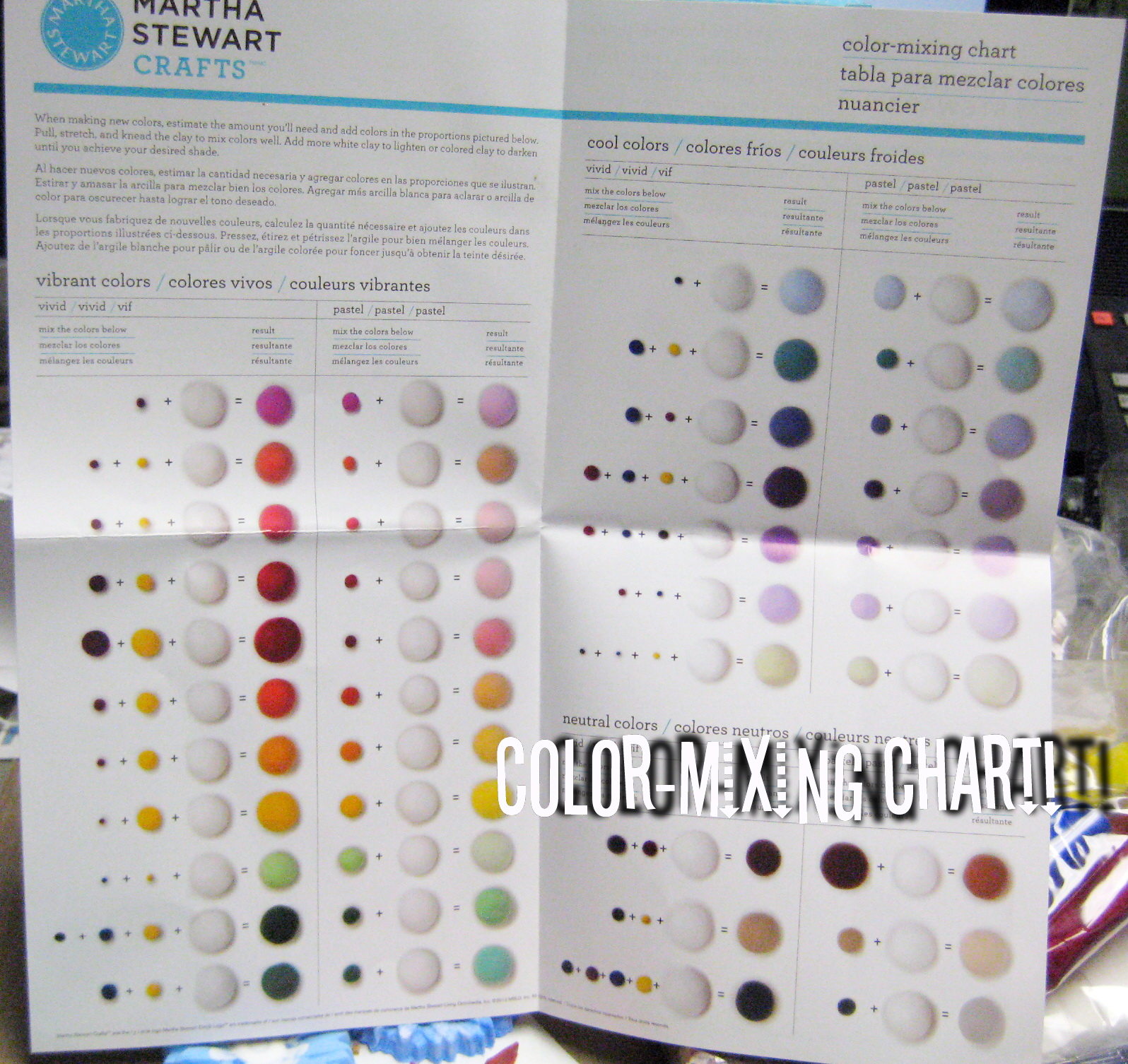 Martha Stewart Color Charts