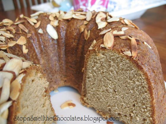 Stop and Smell the Chocolates: Irish Cream-and-Coffee Pound Cake