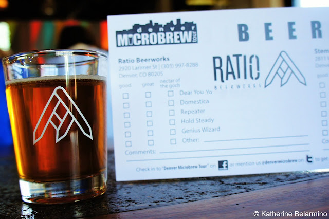 Ratio Beerworks Extra Pale Ale RiNo Denver Brewery Tour