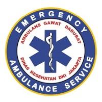 Logo Ambulans Gawat Darurat Dinas Kesehatan DKI Jakarta