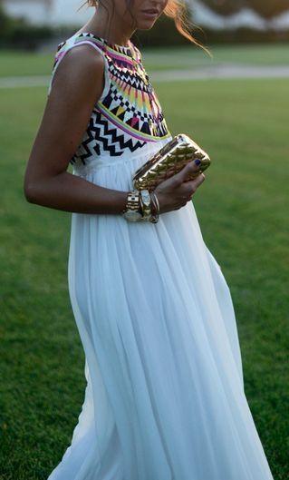 Grecian Goddess Maxi Dress