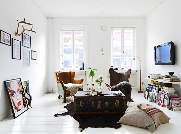 Charming Scandinavian apartment with few lovely ideas  79 ideas