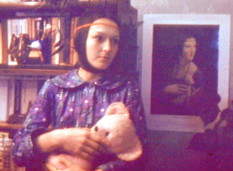 Ира и дама с горностаем